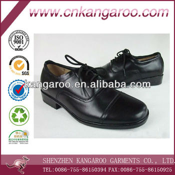 business leather shoes with high quality rubber outsoles