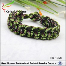 colorful paracord braiding bracelet for sale 550 cord hot sell nice price