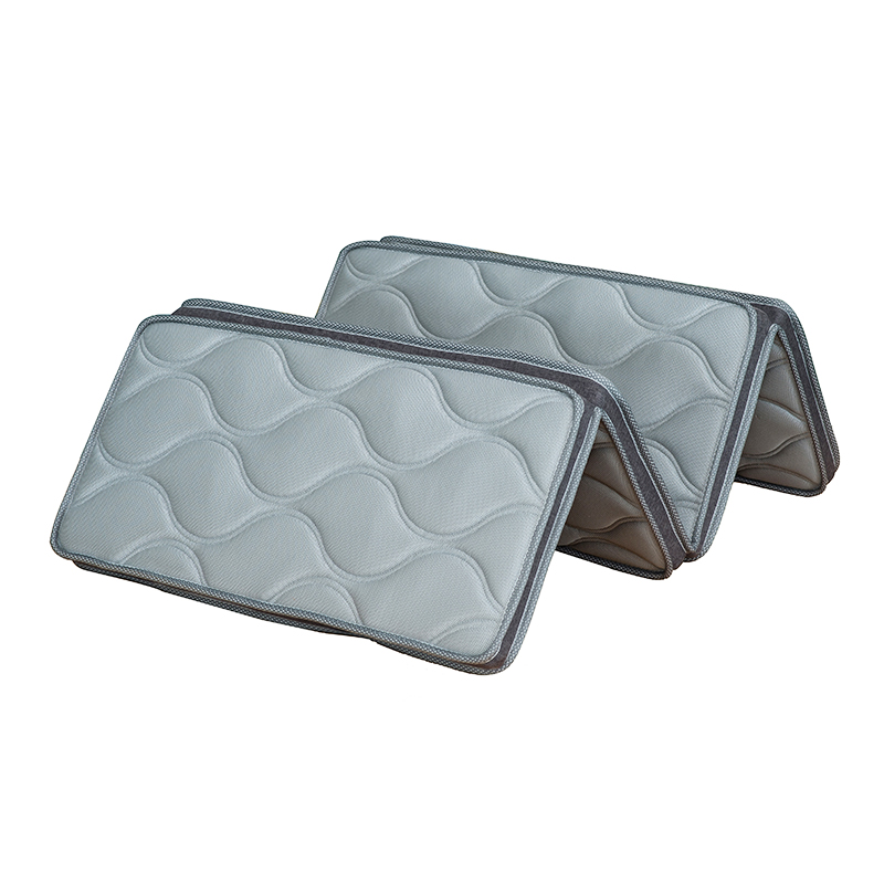 Manufacture customized portable 3D mesh knitted fabric high density foam travel three folding thin mattress - Jozy Mattress | Jozy.net