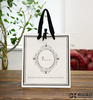 women paper bag paper bag with logo print punch paper gift bag