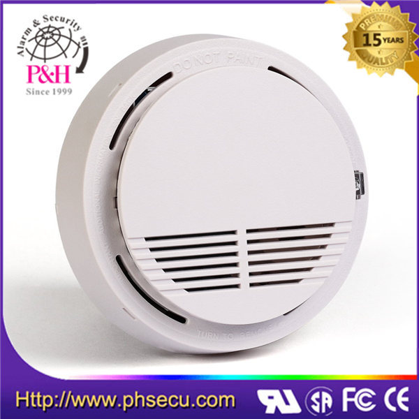 smoke detector with hard wire and battery
