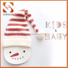 2015 baby boys& girls polar fleece Christmas Hat Beanie Cap Santa xmas hats
