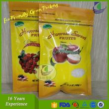 Flexible plastic food packaging bag/pouch in roll/plastic bag in roll