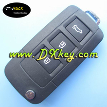 2009 style plastic key blanks for 3 button key shell toyota Toyota Camry key