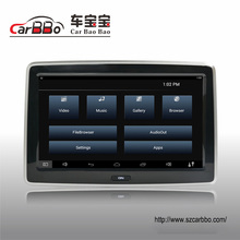 car back seat tft lcd tv monitor 10 inch headrest monitor with wifi for luxury car