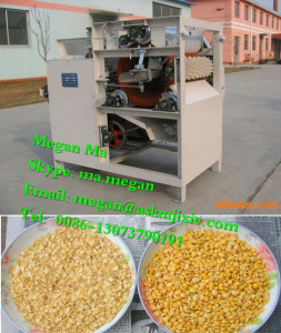 wet way mung bean peeling machine