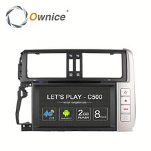 Ownice 4 core Android 6.0 Auto GPS navi for Toyota Prado 2010 2013 Built in 4G LTE 2G RAM Support steering wheel