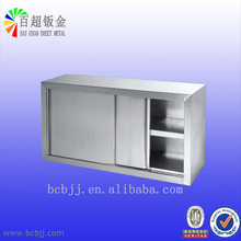 hangzhou customized stainless steel kitchen bowl cabinet