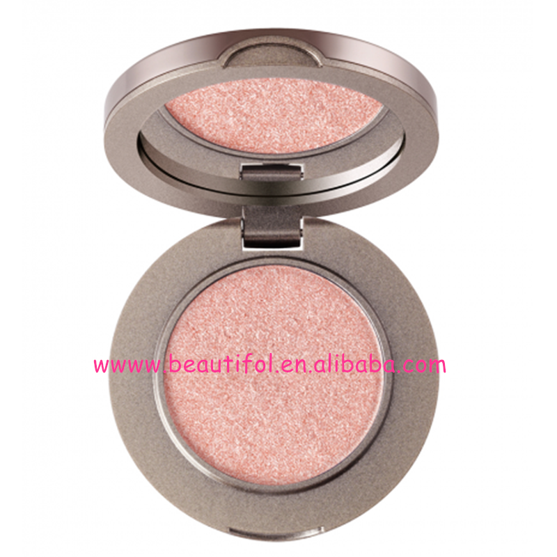 High pigmented naked round compact eyeshadow palette, factory price eyeshadow palette, women makeup