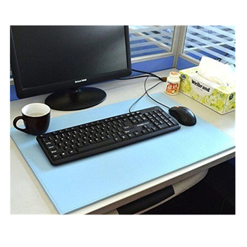 "Factory wholesale PU Leather Desk Mat 24"" x 16"" Desk Pad & Protector Mouse Pad For Office"