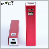 2013 2600mAh light weight rechargeable battery slim powerbank