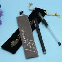 HIgh Quality Products Velvet Pen Gift Bag With Drawstring