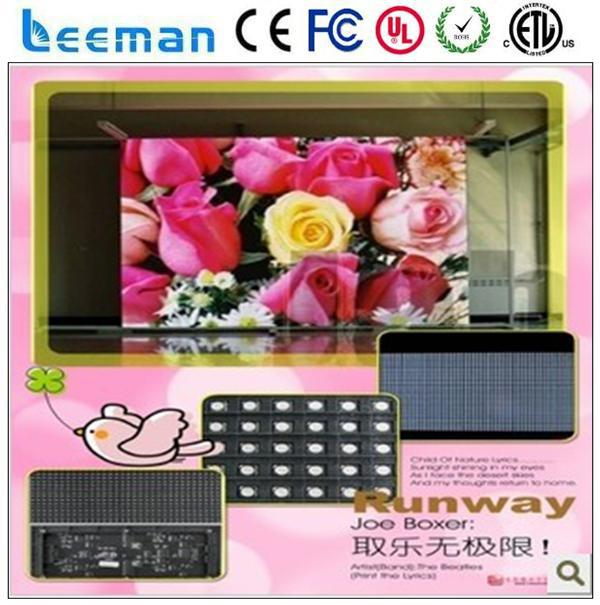 rental display Leeman P10 outdoor led video advertising boards programmable led badge