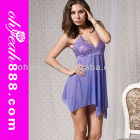 Latex wholesale sexy nighties for women