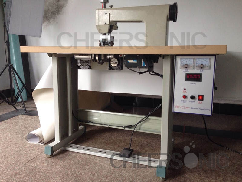 2015 New Sewing Machine Bags Shoe Lace Making Machine Ultrasonic Sewing Machine