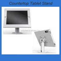 Table mount ipad stand,tilting enclosure