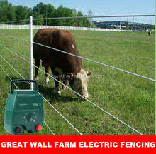 High voltage 12KV farm electric fence energiser/energizer charger controller for poultry control