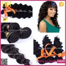 100% raw virgin european hair wholesale deep wave deep curl remy human hair