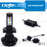 High Performance 4000lm DC12v 24v h4 h7 h11 h16 led auto headlights