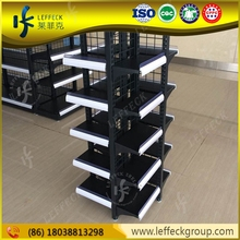 Attractive design multi-layers metal department store shelving