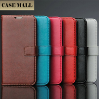 Folding PU Leather Flip Phone Cover Wallet Case with Card Holder Slot for Samsung Galaxy S6 Edge S6 A5 A7