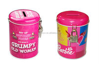 Lovely Lady Slimming Pants Tin Box in Shape