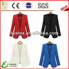 Nylon cotton spandex studded fantasy fabric blazer
