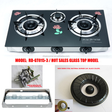 3 burner Table Gas Cooker Gas Stove RD-GT015-3