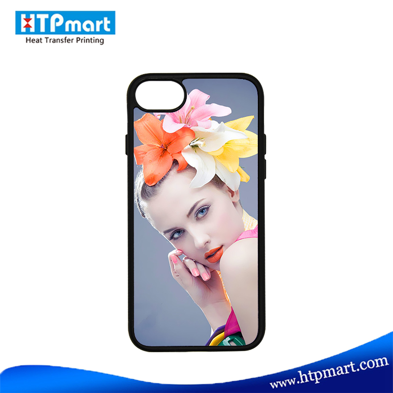 Sublimation Custom soft rubber TPU Phone cover for Iphone 7 7 plus