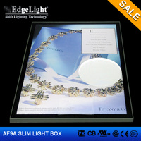 Edgelight AF9A Aluminous frame Magnetic dual side china advertising material LED sign board
