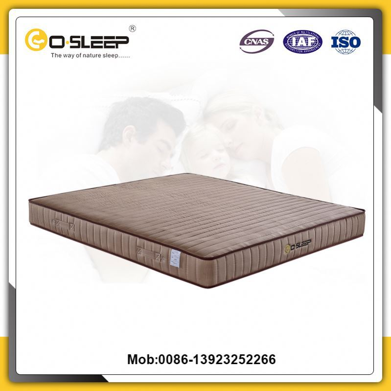 Factory wholesale breathable cheap foam sleep care thin bubble mattress