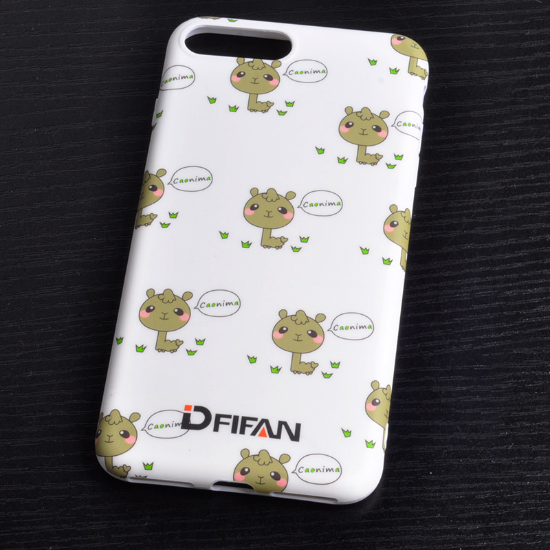 DFIFAN Best selling fashion soft cute cartoon TPU phone case back cover for iphone 6 6s 6plus 7 7plus case