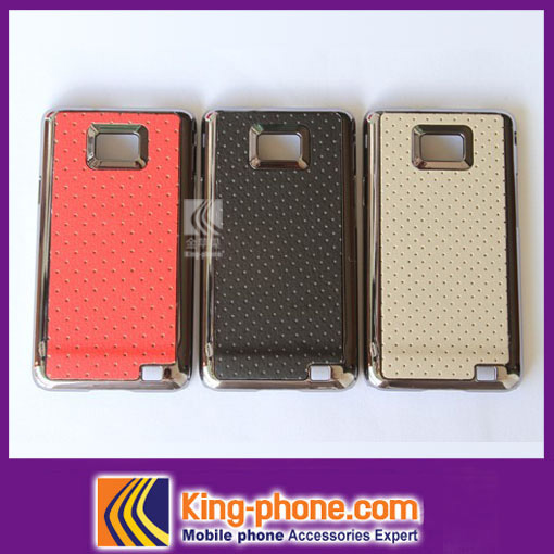 Wholesale Type Electroplate Mobile Phone Cover Hard Case For Samsung I9100