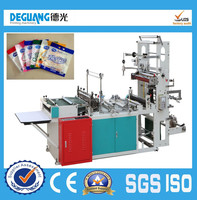 Computer Control Side sealing heat cutting plastic bag making machine