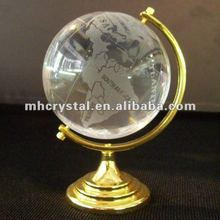 Crystal Globe With A Golden Holder MH-Q0052