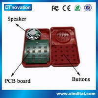 New type promotional push button musical toys