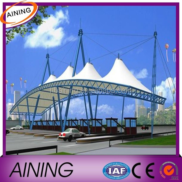 pvc coated canvas tarpaulin for swimming pool membrane structure