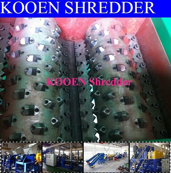 China new good quality paper and plastic shredder machine