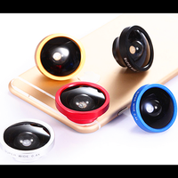 Cell phone accessories plastic magnifying custom camera lens