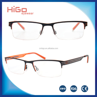 Fashionable Design Prescription Eyeglasses Frames Stainless