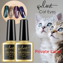 Distributors needed poland new arrival cat eye color gel nail polish 10ml