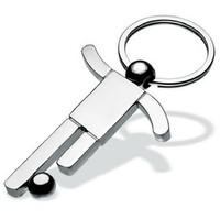 Football Game Metal Blank Metal Keychains
