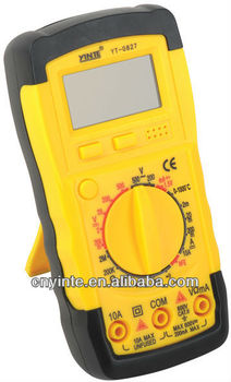 Portable AC DC Voltage LCD Digital Multimeter YT-0827