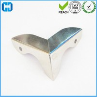 Stainless Iron Three Side Metal Corner For Wooden Chest