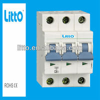 L7-63N Auto reset Low voltage European standards Mini Circuit Breaker