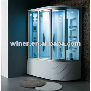 2014 hot sale sauna shower room with steam function