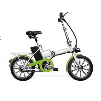 250W 16Inch Folding China Cheap Electric Bicycle