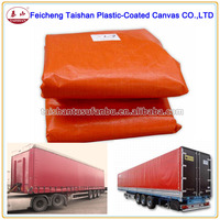 HEAVY DUTY PVC MATERIAL TRAPS PVC FABRIC TRUCK COVER