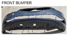 For Chevrolet Cruze 2015 auto car front bumper