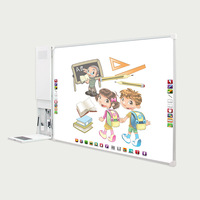 New education supplies smart interactive whiteboard for multimedia classroom